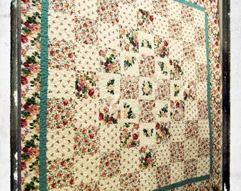 Roses and Butterfly Quilt