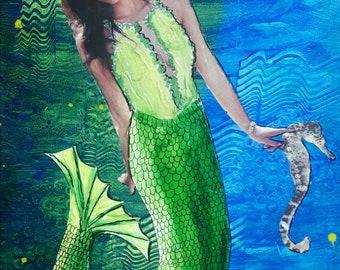 MY LITTLE PONY - Mermaid Artwork
