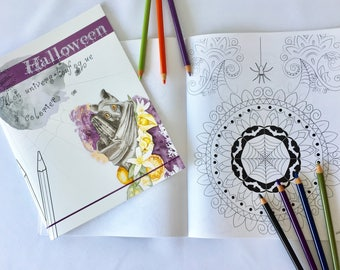Limited edition Halloween coloring book