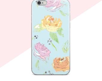 Samsung Galaxy S7 Edge Case, Samsung Galaxy S8 Case, Flower Phone Case, Samsung Galaxy S7 Case, iphone 7 Plus Case Floral, Cute iphone Cases