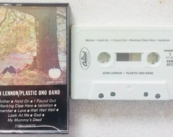 John Lennon / Plastic Ono Band : John Lennon / Plastic Ono Band (Cassette Tape)