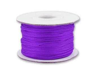 0.5 or 0.8 mm - 10 m Nylon string purple