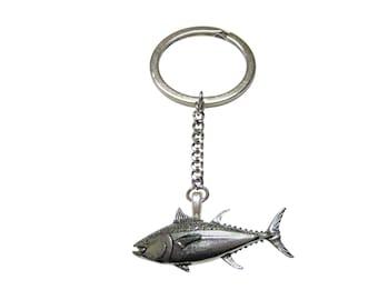 Tuna Fish Pendant Keychain