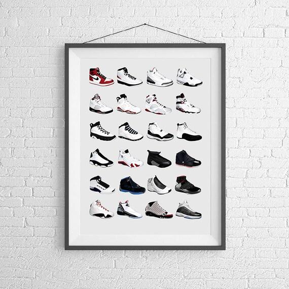 Air Jordan Nike Art De Laffiche