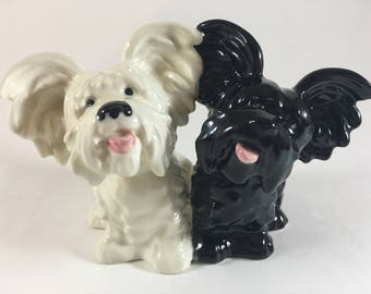 Goebel Black and White Scotch Terriers