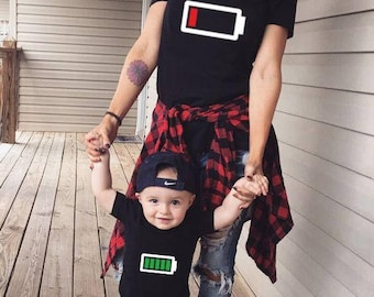 Mother and son matching shirts mommy and son shirts mommy and daughter shirts dad and baby mini, 100% cotton, mothers day gift