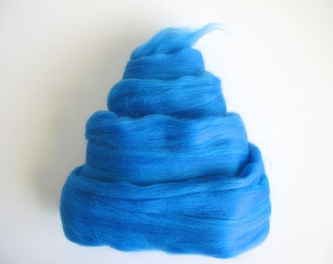 Color Fusion - 19 Micron Merino Top - Dodger Blue - 4oz