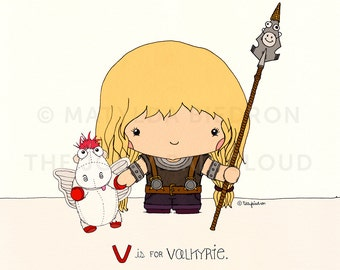 V is for Valkyrie