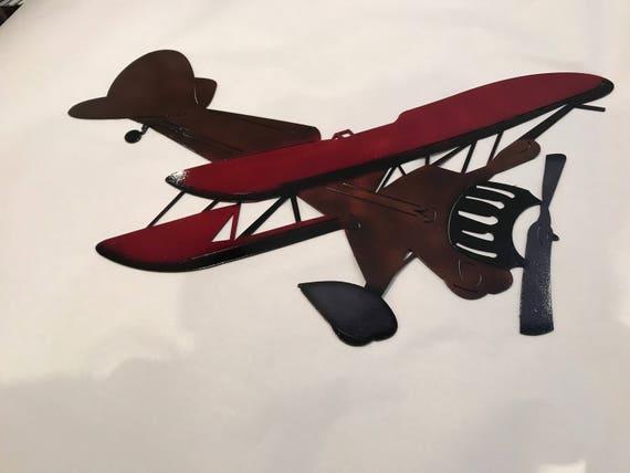 Metal Airplane Metal Plane Plane Airplane Metal Wall art