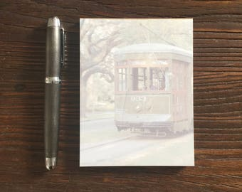 Streetcar Notepad - New Orleans