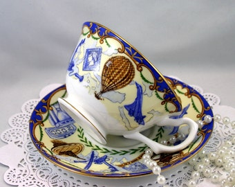 Royal Grafton Teacups & Saucer, Part of the Collection of The Queen Elizabeth Jubilee  in 2002, Bone English China  made in 2002s