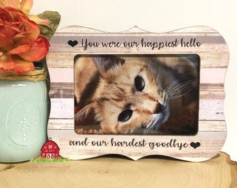 Personalized Cat Loss Frame- Personalized Pet Loss Frame- Pet Loss Gift- Dog Frame- Cat Frame- Personalized Dog Loss