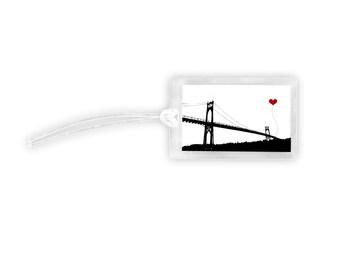 SALE Portland Oregon St. John's Bridge Luggage Tag Discontinued Style