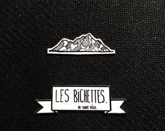 GEOMETRIC mountain badges