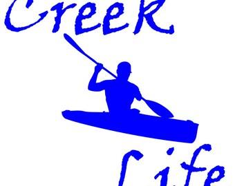 Creek Life Decal