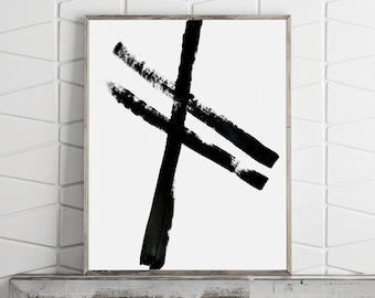 Abstract Art Print, Minimalist Poster, Printable Wall Art, Large Wall Art Prints, Digital Download, Digital Prints, Scandinavial Print