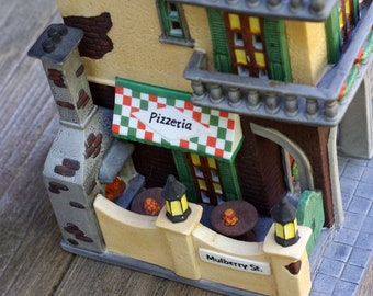 Dept 56 Christmas in the City,Little Italy Ristorante, 1991