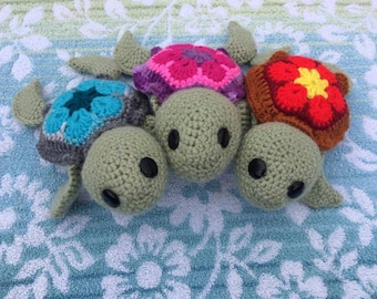 Tank the Tiny Sea Turtle - PATTERN ONLY!