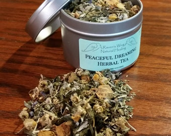Peaceful Dreaming Herbal Tea