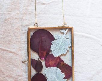 Dusty Miller Rose Frame
