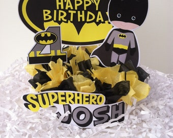 Superhero Batman Cake Topper