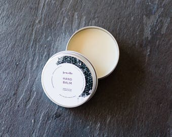Hand Balm with Organic Beeswax, 100% Natural- by Jewelle