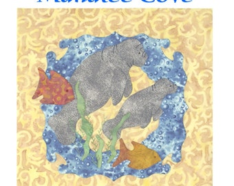 Manatee Cove Applique quilt pattern