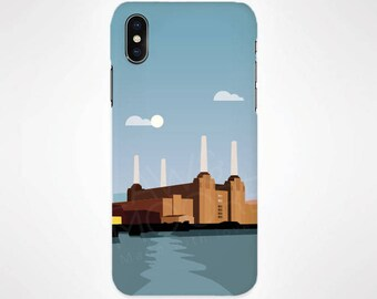 London - Battersea Power Station Phone Case for iPhone and Samsung, iPhone X, 8, 7, 6, 6s, Plus, 5s, 5c, Samsung, S8