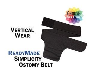 PouchWear Vertical ReadyMade Simplicity Ostomy Support Belt