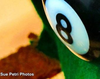 8 Ball Photos, Pool Room Wall Art, Pool Room Decor, Pool Ball Photos, Pool Ball Prints, 8 Ball Prints, 8 Ball Art, Still Life Photography