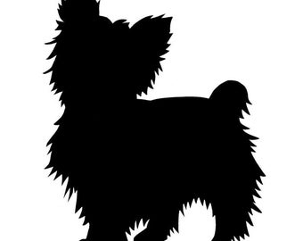 "4"" Yorkshire Terrier ""Yorkie"" Decal"