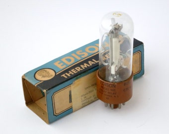 Thomas A Edison, Inc. Model 501 Time Delay Relay - 1950's new old stock