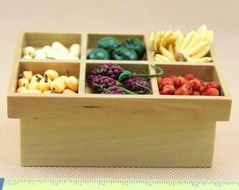 Dolls House Miniature Barewood Stall Table