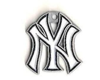New York Yankees Baseball Charm