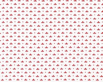 Windowsill Garden Yardage - Red - ADZ-17093-3  by Darlene Zimmerman for Robert Kaufman