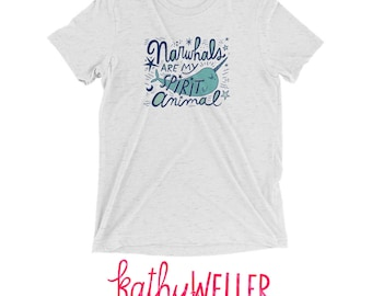 Narwhal T Mermaid Shirt Unicorn Narwhal Spirit Spirit Animal Unicorn Narwhal Beach Life Unicorn Of The Sea Mermaid Tshirt Narwhal Tshirt