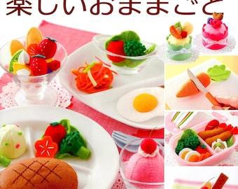 Making Felt Dessert and Food  - Japanese Craft Book