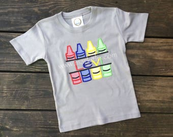 Crayon Name Shirt