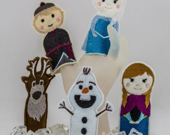 Finger Puppets - Frozen and other Fairy Tales