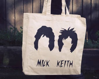 Mick Jagger and Keith Richards Cotton Shopper