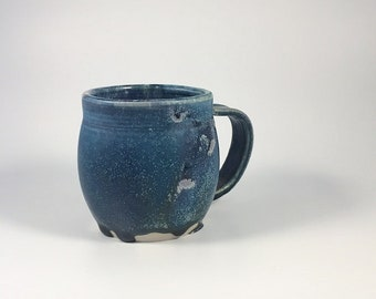 12oz Blue Ceramic Mug