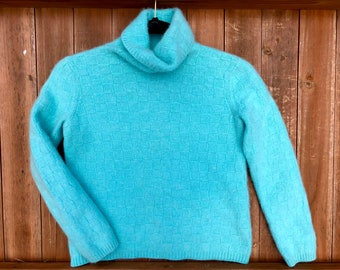 Cashmere Sweater, Tiffany Blue