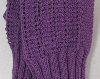 Marian Easy Knit Afghan Pattern