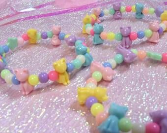 Pastel Kitty Bracelet