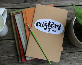 Custom Moleskine Cahier Journal