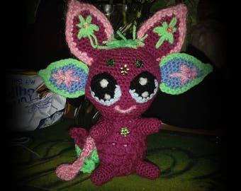 "OOAK Fantasy Art Doll ""Luna"""