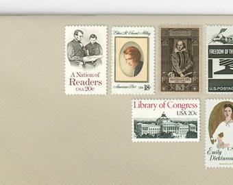 Posts (5) 2 oz wedding invitations - Literature, Books, & Reading unused vintage postage stamp sets (2 ounce 71 cent rate)