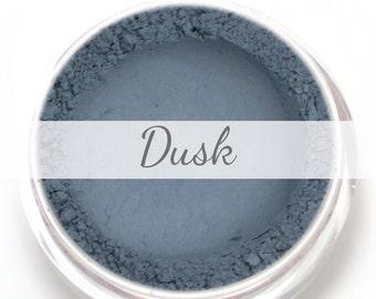 "Eyeshadow Sample - ""Dusk"" - Matte Blue Grey Vegan Mineral Makeup"