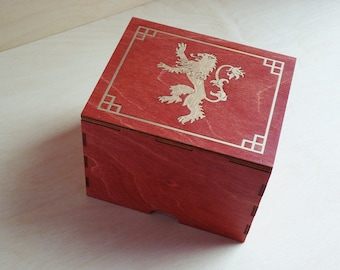 Lion Incognito Stash Box