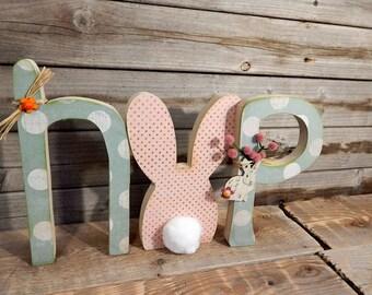 Hop Easter letters..